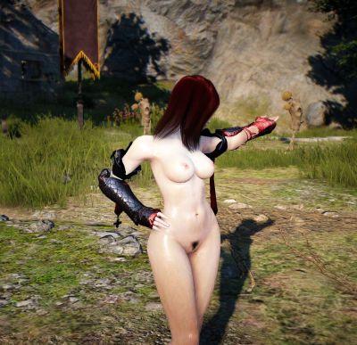 Black Desert Mystic Nude - part 4